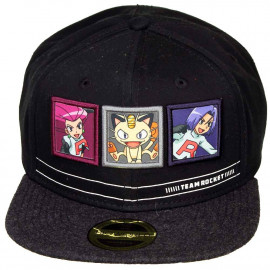 Snapback Team Rocket Trio