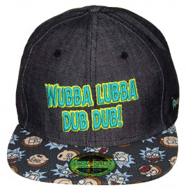 Snapback Rick & Morty Wubba...