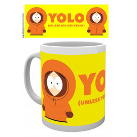 South Park Kenny YOLO Mug